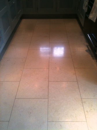 Honed Limestone After