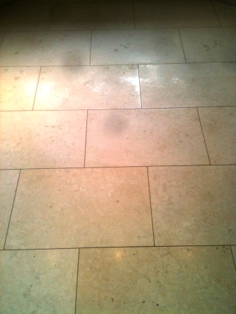 Honed Limestone Before