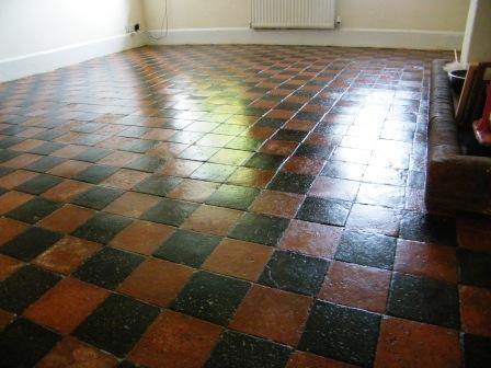 Quarry Tiles Kitchen Floor O2 Pilates