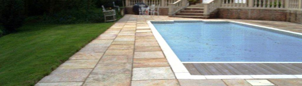 Bicester Indian Sandstone Swimming Pool Surround