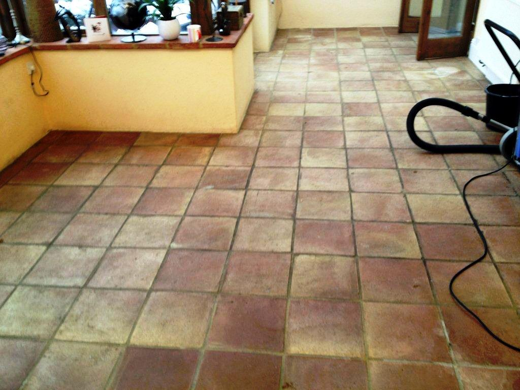 Terracotta Tiles Henley On Thames Before