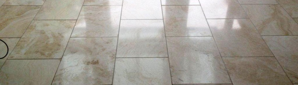 Travertine Tiled Floor Maintained in Brightwell-Cum-Sotwell