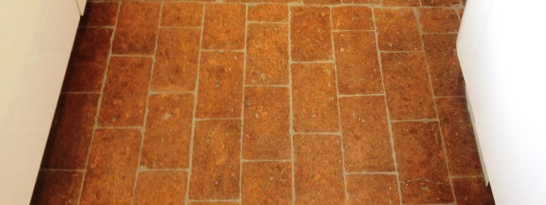 Brick Paved Floor Re-grouted and Cleaned in Peppard