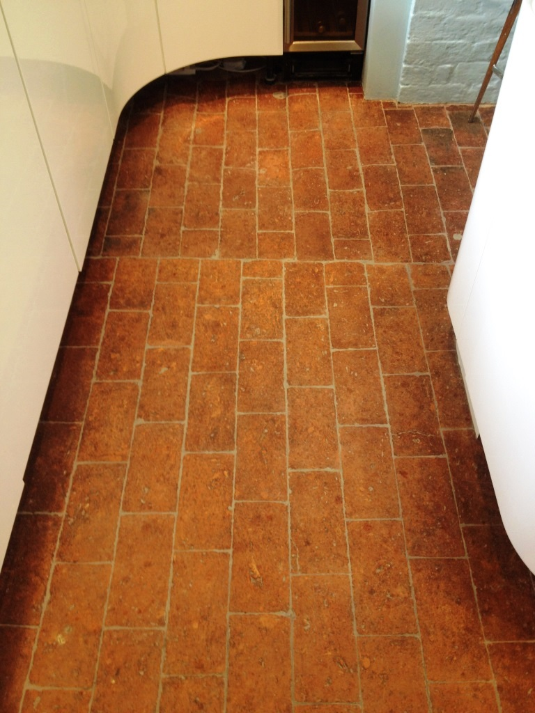 brick tile flooring brick re grouting oxfordshire tile doctor 28949