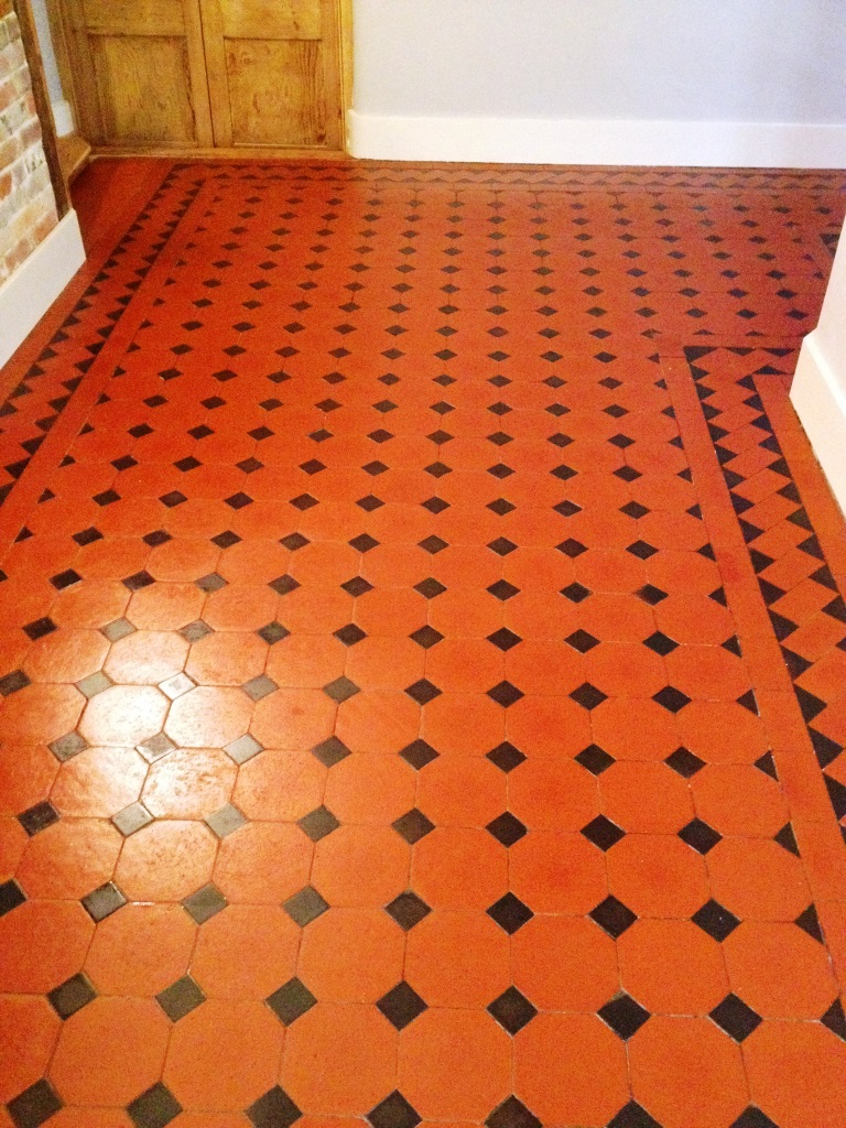 Victorian Tiles After Refurbishment in Farringdon
