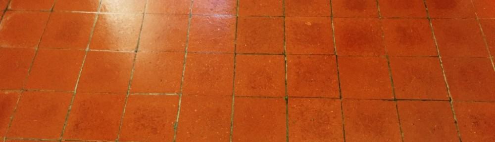 Quarry Tiles After Restoration in Banbury