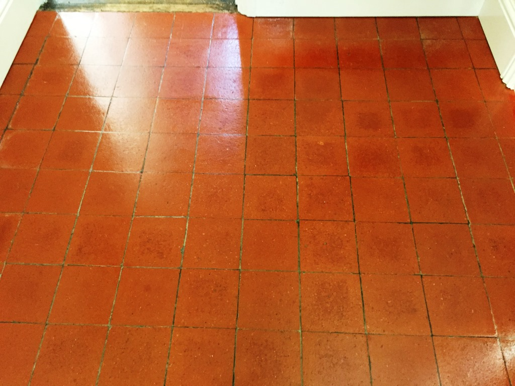 Quarry Tiles After Restoration in Banbury