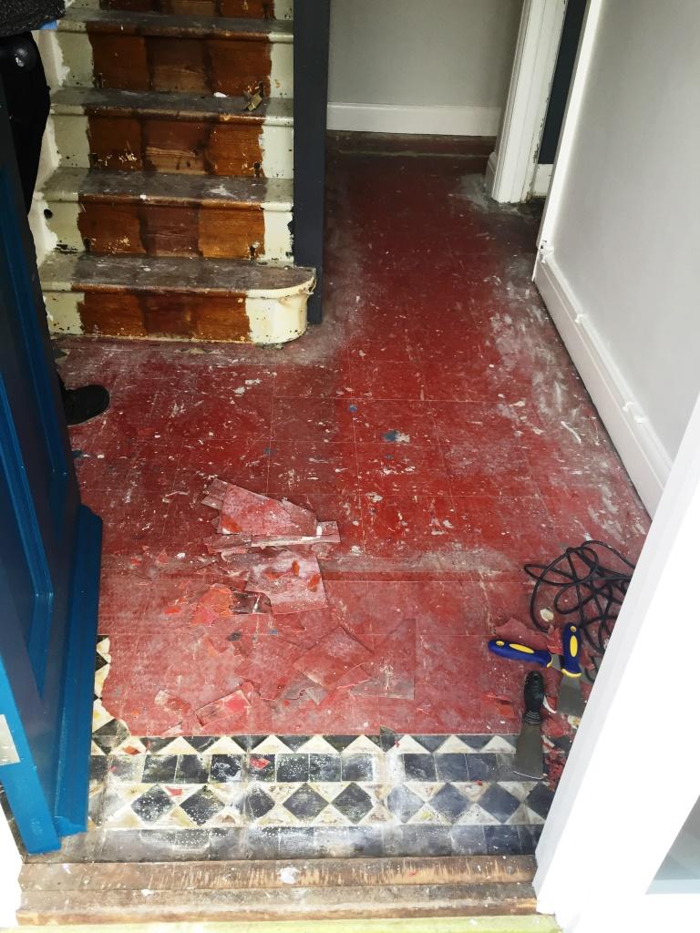 Victorian Floor Restoration Oxford Before