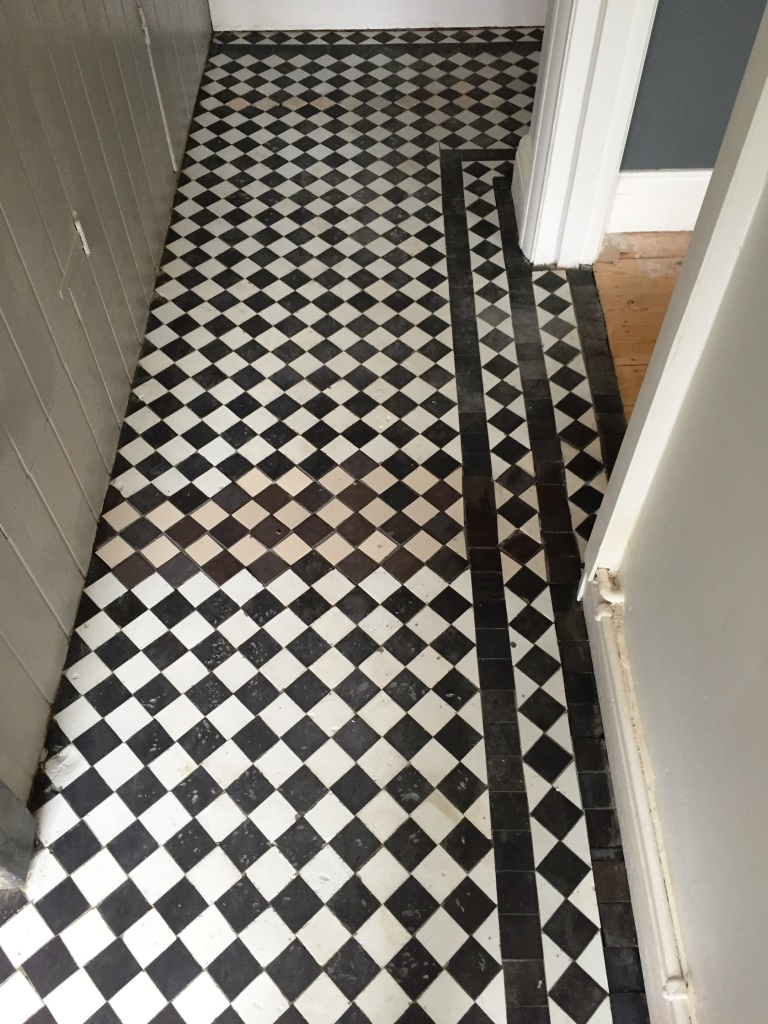 Oxfordshire cleaning and maintenance advice for victorian tiled victorian floor restoration oxford tile repair doublecrazyfo Gallery