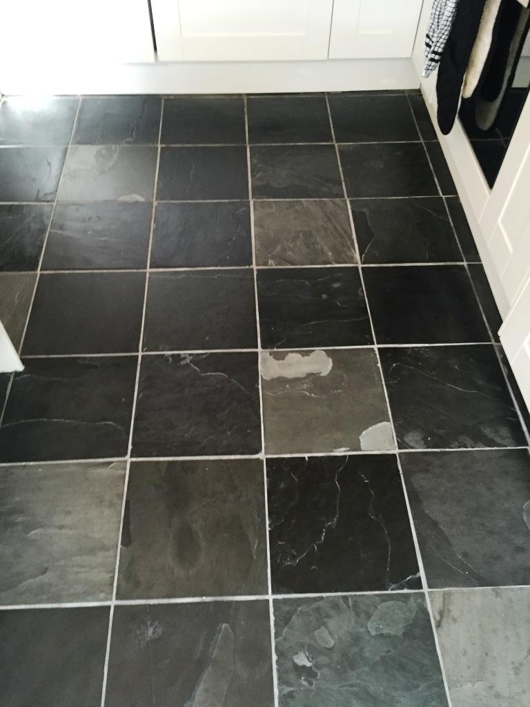 exellent slate floor tiles kitchen and design
