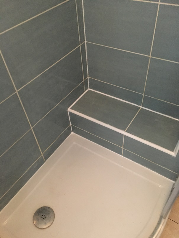 Mouldy Ceramic Tiled Shower Woodstock After Cleaning